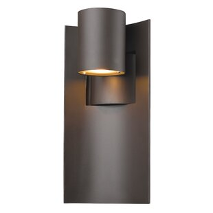 Gerlach 1-Light Outdoor Sconce by Ivy Bronx