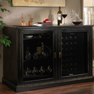 Siena 28 Bottle Single Zone Wine Sideboard Wine Enthusiast