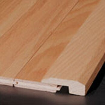Ahf Products Oak Wood 0 63 Thick 2 Wide 78 Length Threshold End Cap Wayfair