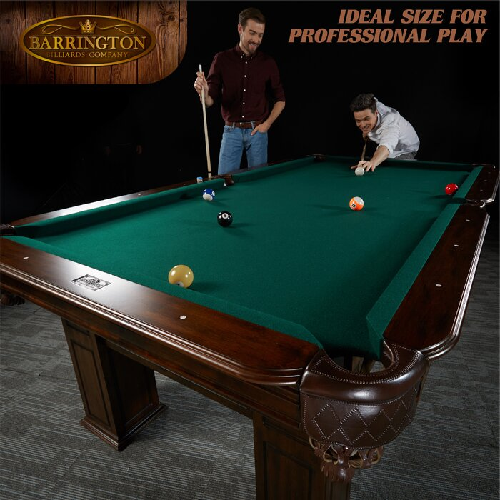 Magnificent Barrington Woodhaven 8 3 Pool Table Download Free Architecture Designs Scobabritishbridgeorg