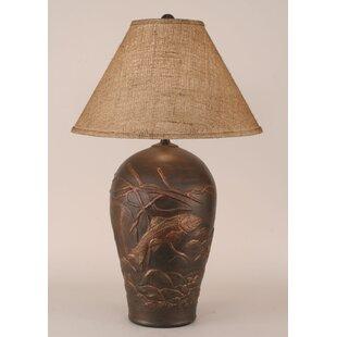 Rustic Living Fish Pot 30.5 Table Lamp