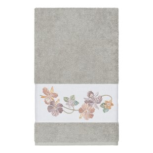 Virgil Embellished Turkish Cotton Bath Towel