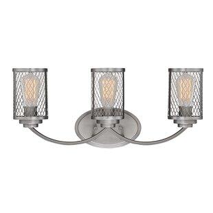 Williston Forge Bastien 3-Light Vanity Light