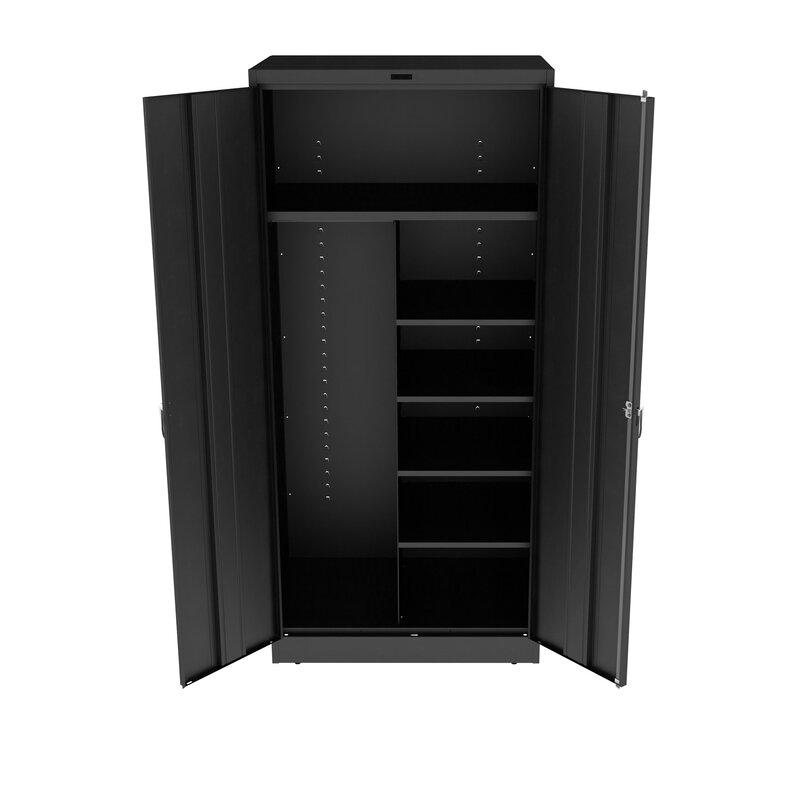 Tennsco Deluxe 78 H X 36 W X 24 D 2 Door Storage Cabinet Wayfair