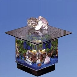 Attirant Fish Tank End Table | Wayfair