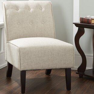 Leland Slipper Chair by Charlton Home