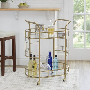 Paschall Bar Cart by Brayden Studio