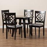 Rensselear 5 - Piece Dining Set (Set of 5) by Alcott Hill®