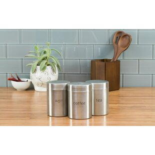Coffee Themed Canisters Wayfair