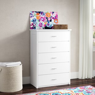 Great Price Boggs 5 Drawer Chest by Trule Teen