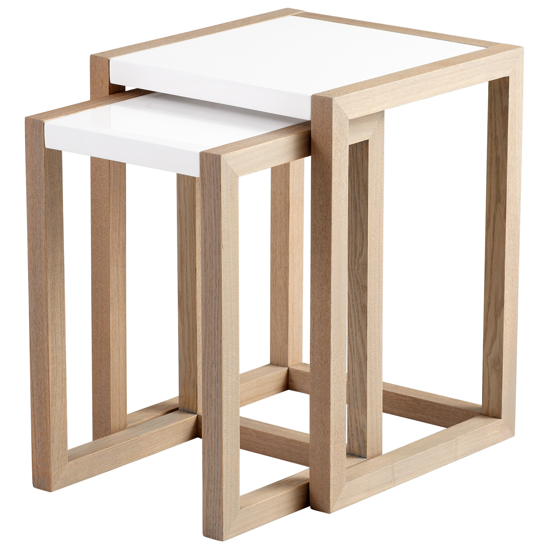 Coastal Nesting Tables End Side Tables You Ll Love In 2021 Wayfair