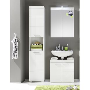 Neema 3 Piece Bathroom Storage Furniture Set By Metro Lane