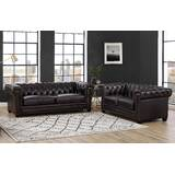 Batchelor 2 Piece Leather Living Room Set by Alcott Hill