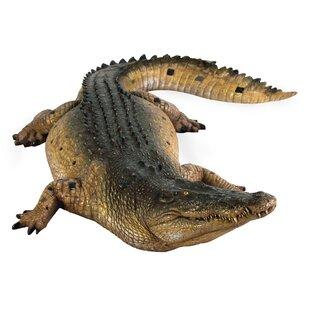 Design Toscano Tropical Wetlands Crocodile Statue