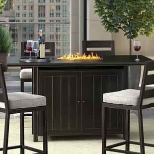 Marvelous Beringer Aluminum Propane Fire Pit Table