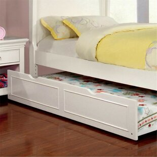 Wetzel Sleigh Bed with Trundle by Harriet Bee
