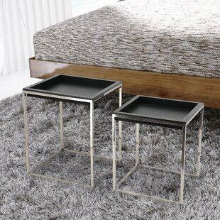 Empire Art Direct 2 Piece Nesting Tables