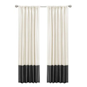 Maribelle Rod Pocket Light-Filtering Curtain Panels (Set of 2)