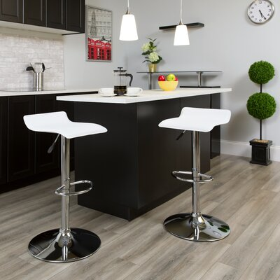 Adjustable Height White Bar Stools You Ll Love In 2020