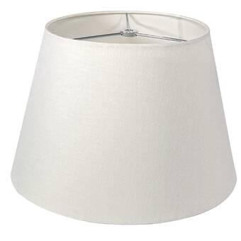 Simon Pearce 10 75 H X 16 W Linen Empire Lamp Shade Spider In Sugar Perigold