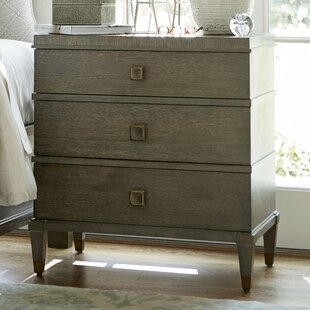 Renita 3 Drawer Nightstand by Canora Grey