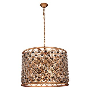 Mercer41 Morion Transitional 8-Light Pendant