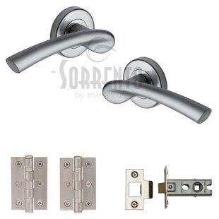 Door Handles With Locks To Quickview Door Handles Sets Knobs With Locks Wayfaircouk