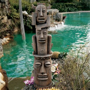 Gods Of The Three Pleasures Tiki Gods Statue By Design Toscano