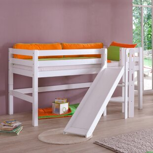 Rialto European Single Mid Sleeper Bed By Zoomie Kids