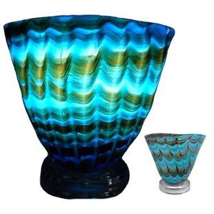Ebern Designs Truchanovicius Art Glass 8