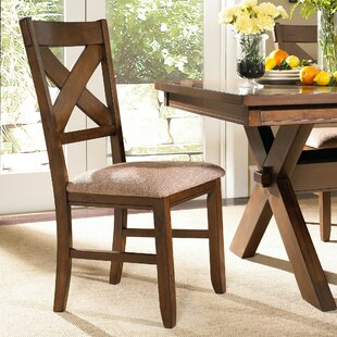 Compare prices Alejandro Upholstered Dining Chair (Set of 2) by Loon Peak Reviews (2019) & Buyer's Guide