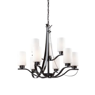Gerald 9-Light Shaded Chandelier by Darby Home Co