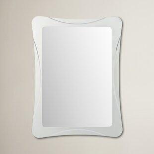 Wrought Studio Logan Frameless Terassa Wall Mirror