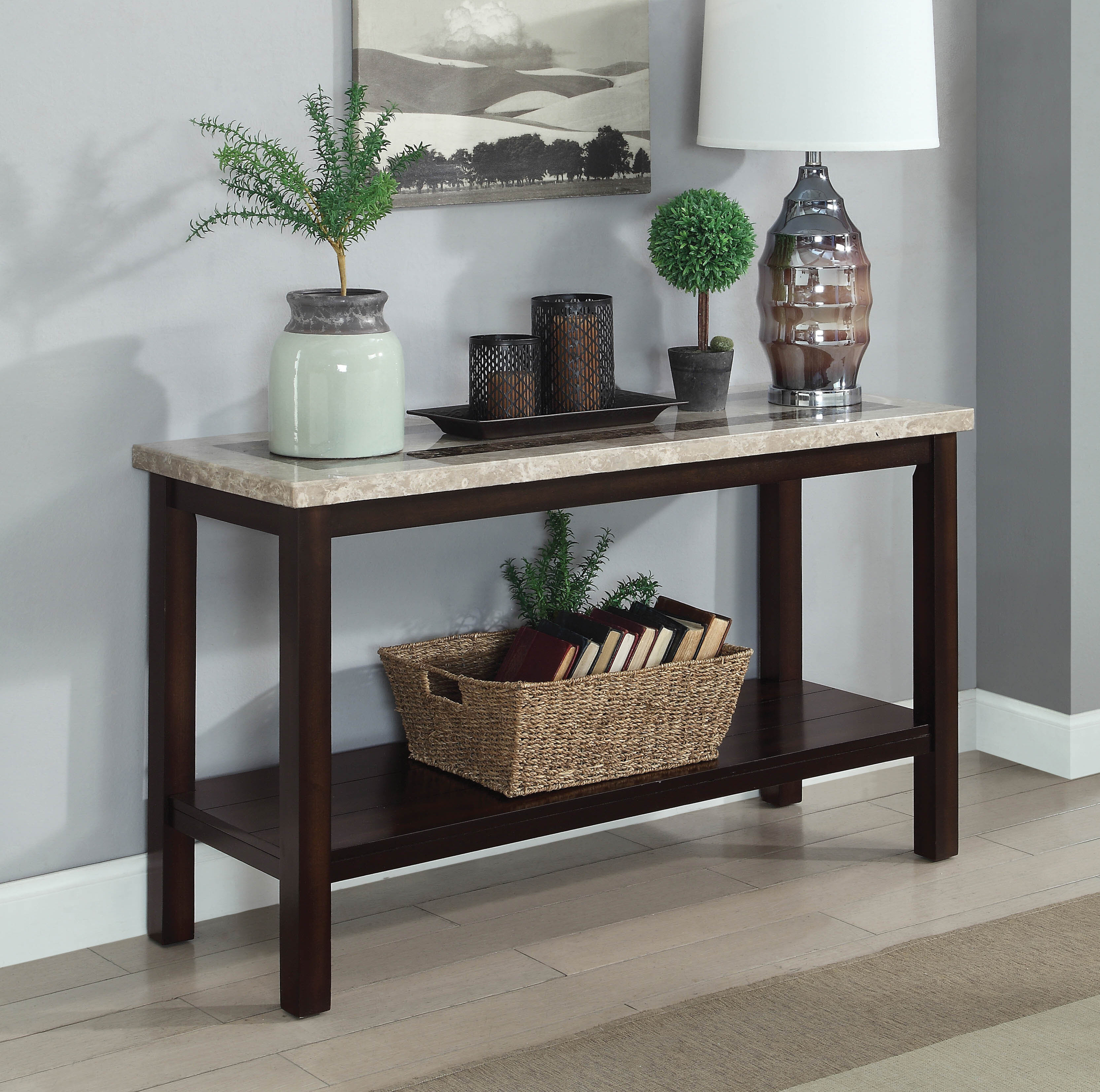 Peachy Chantal 48 Solid Wood Console Table Ibusinesslaw Wood Chair Design Ideas Ibusinesslaworg