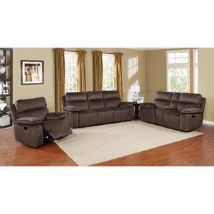 Halbert Reclining Configurable Living Room Set