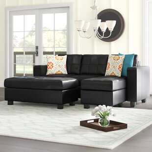 Rutkowski 83 Right Hand Facing Sectional with Ottoman by Ebern Designs