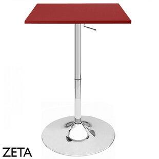 Zeta Adjustable Height Pub Table Vandue Corporation