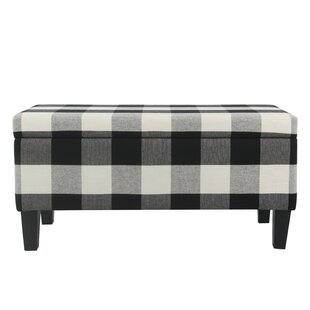 August Grove Shetye Decorative Upholstered Storage Bench