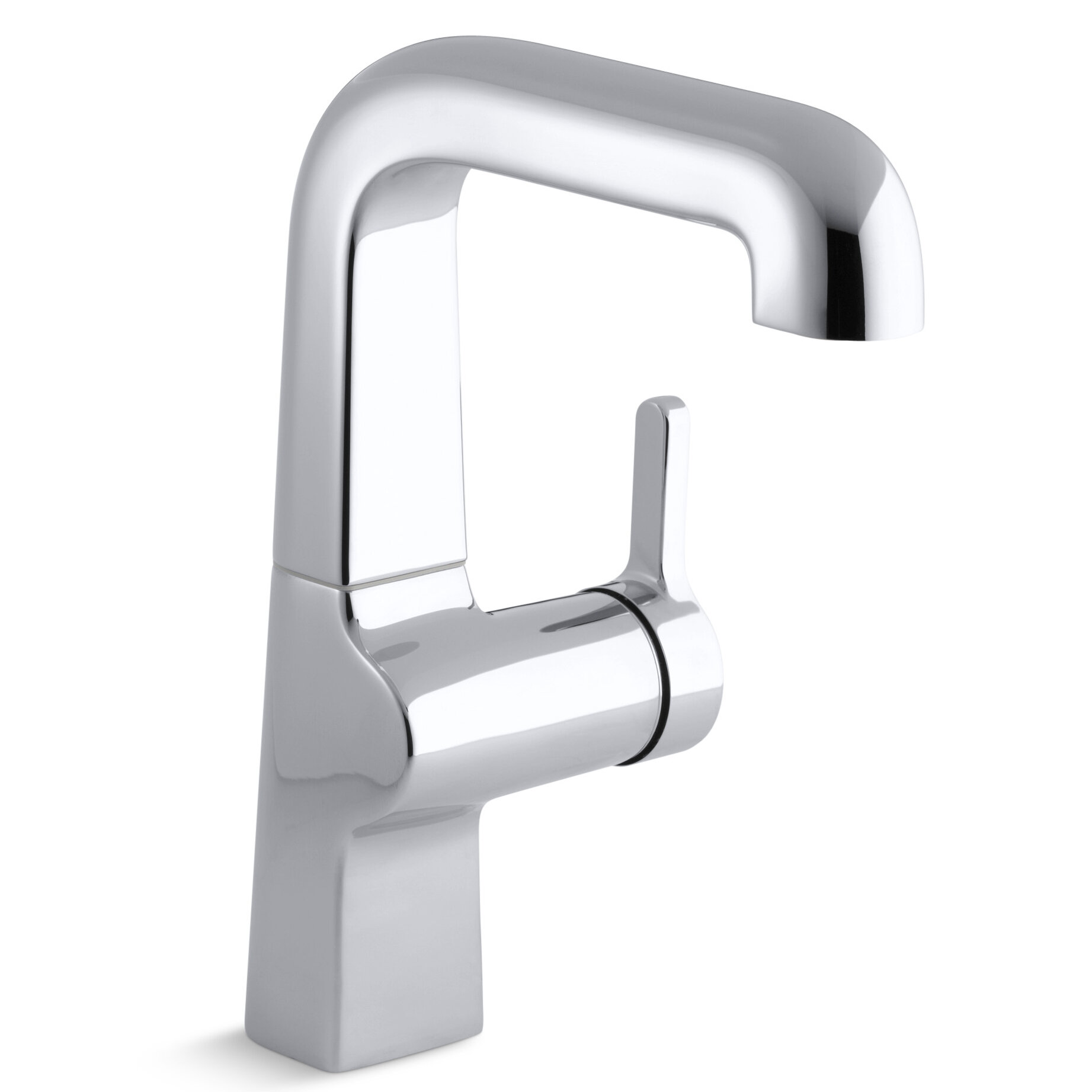 Evoke Single-Hole Kitchen Sink Faucet with 7\