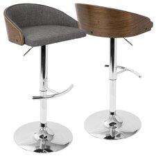 morford adjustable height bar stool