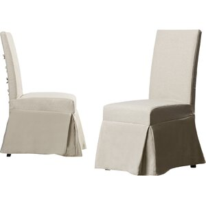Erondelle Wood Leg Parsons Chair (Set of 2)