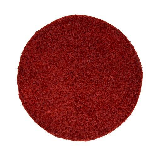 Bushnell Shaggy-Teppich in Rot Küstenhaus Carpet Size: Round 120 cm | Heimtextilien > Teppiche > Sonstige-Teppiche | Küstenhaus