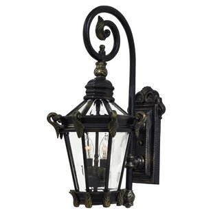 Great Outdoors by Minka Stratford Hall 2-Light Outdoor Wall Lantern