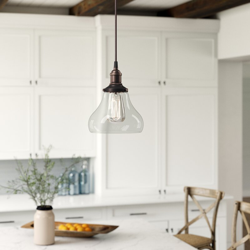Longview 1 Light Single Teardrop Pendant Reviews Birch Lane