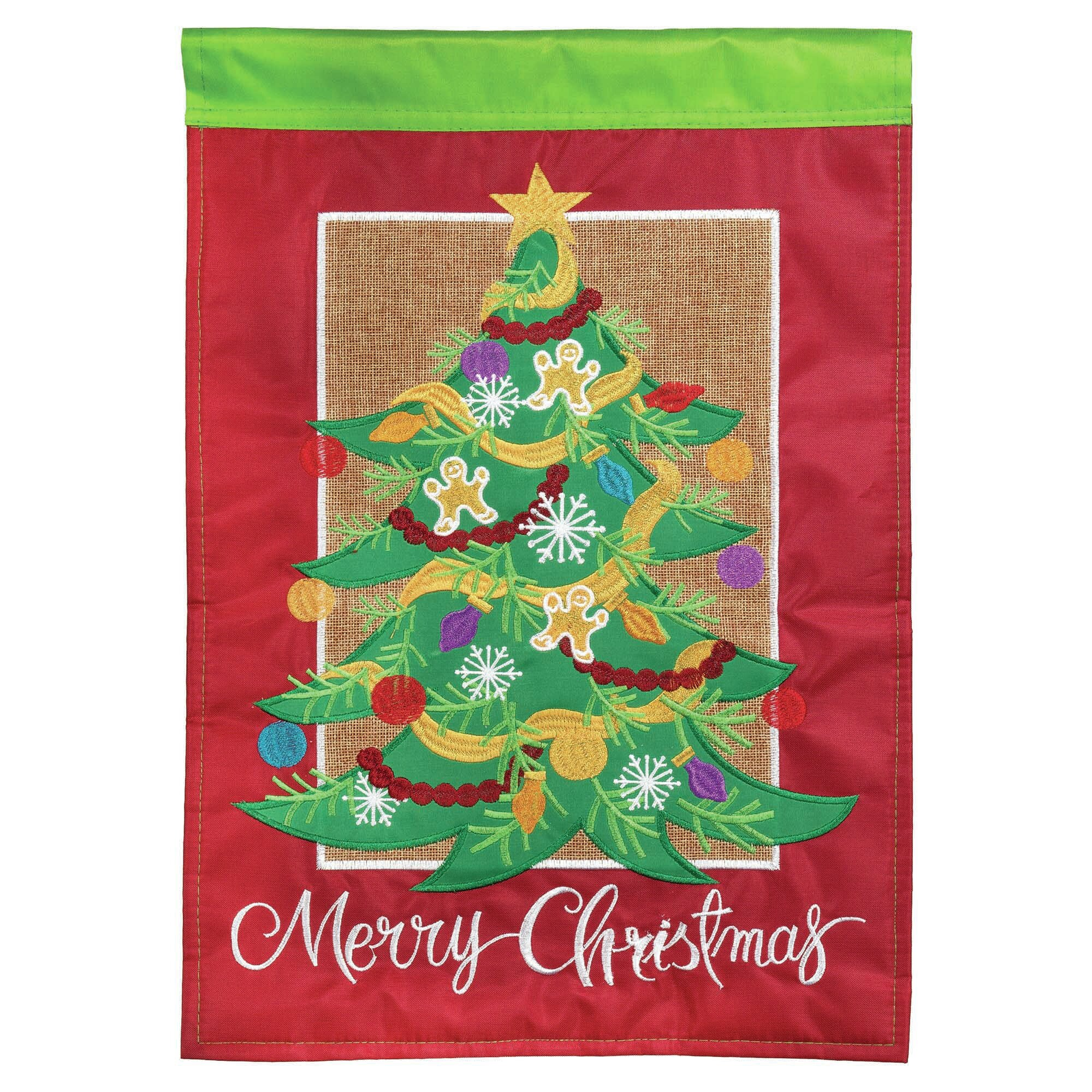 Dicksonsinc Burlap Tree 2 Sided Nylon 18 X 13 In Garden Flag Wayfair