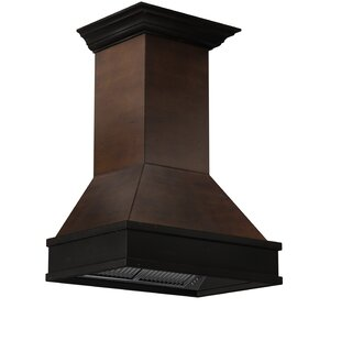 30 900 CFM Ducted Wall Mount Wood Range Hood by ZLINE Kitchen and Bath