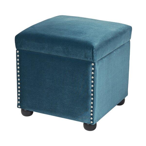 - Sandy Wilson Fusion Storage Cube Ottoman & Reviews Wayfair