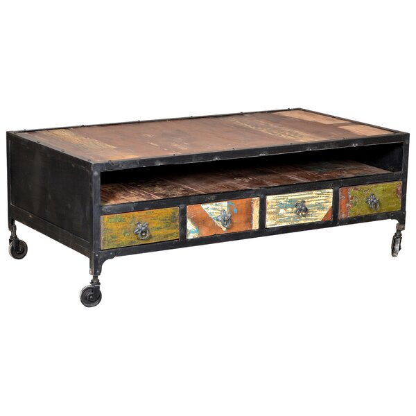 Ordinaire Bloomsbury Market Desirae 4 Drawer Coffee Table | Wayfair