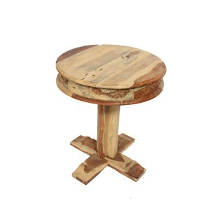 Lemoine Sheesham End Table by August Grove