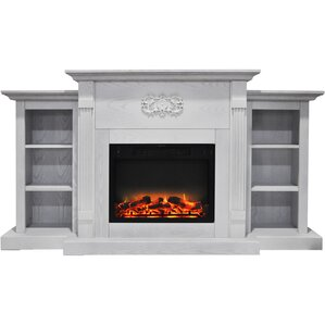 Dimmick Free Standing Electric Fireplace by Alcott Hill